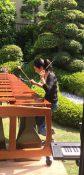 マリンバ奏者松本律子